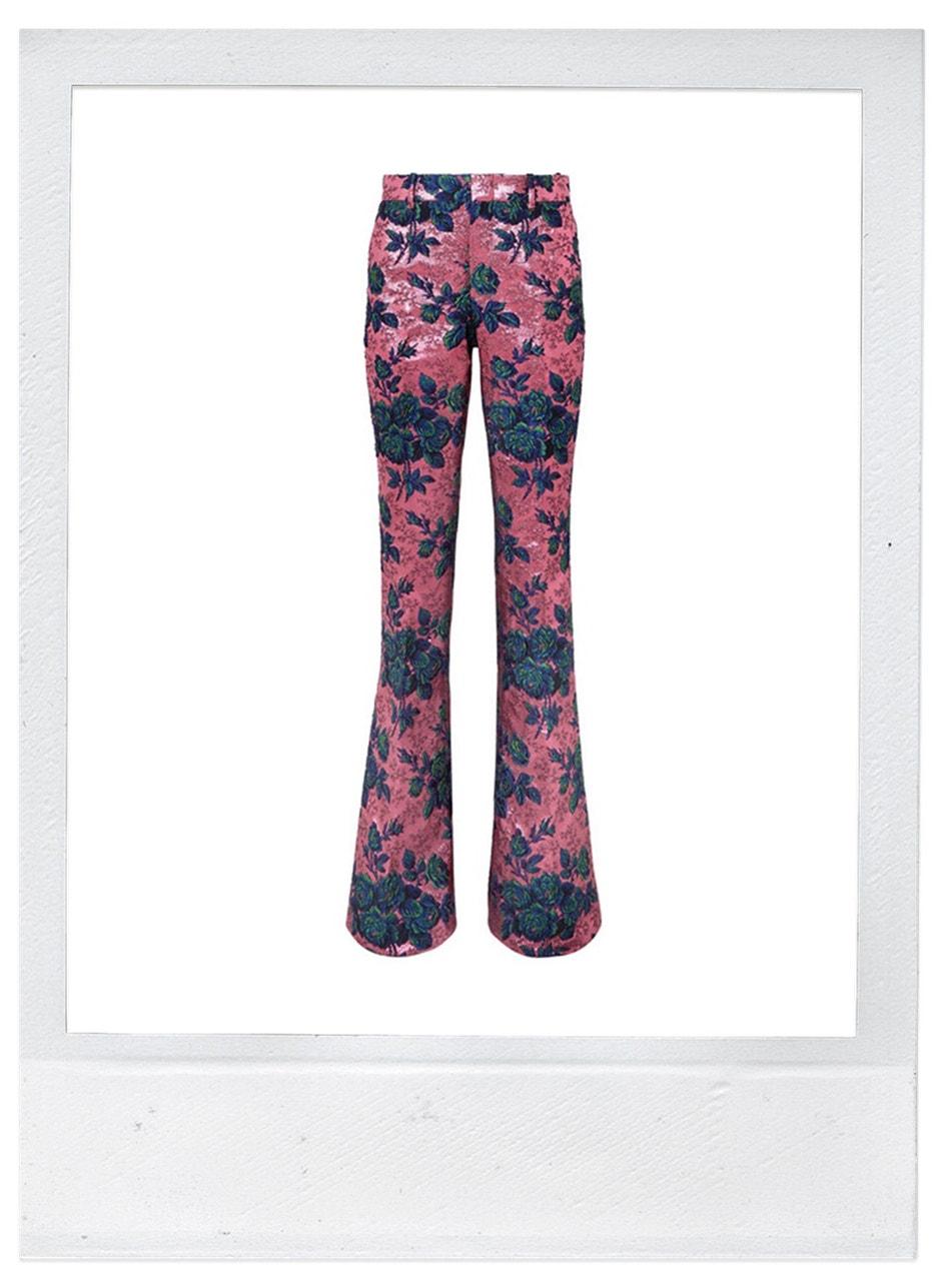Kalhoty, Gucci, prodává Net-a-Porter, 1400 €