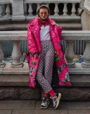 Street style z moskevského fashion weeku