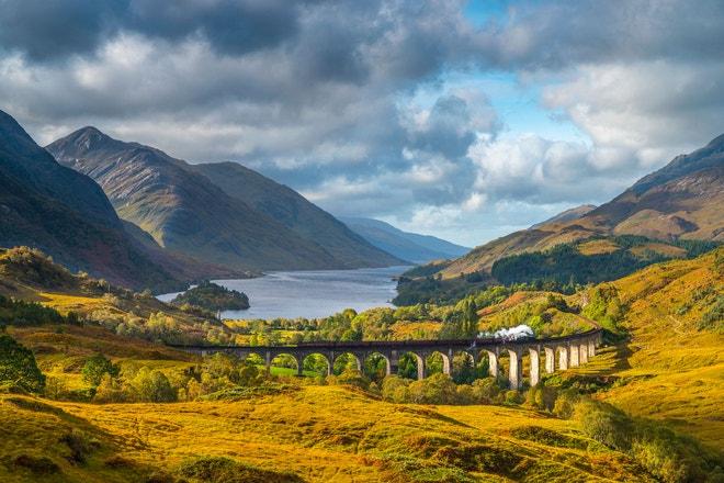 Skonská vysočina, Loch Shiel, Glenfinnan