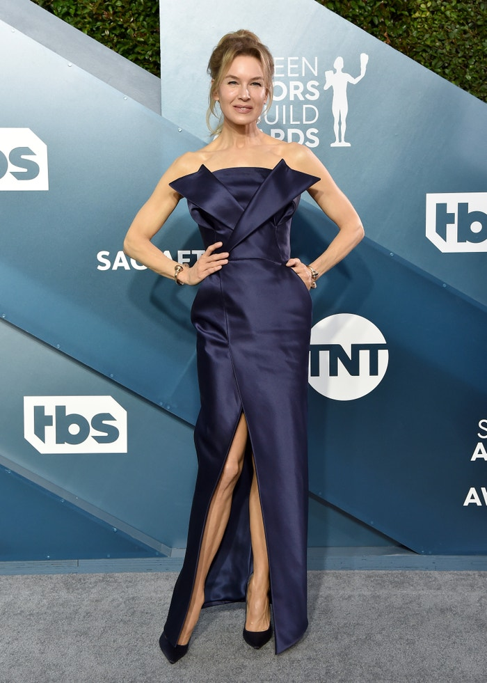 Renée Zellweger in Maison Margiela at the SAG Awards. Autor: Getty Images