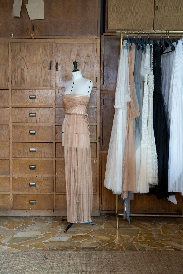 Natáčení filmu Dior Haute Couture podzim - zima 2020/2021     Autor: Leslie Moquin