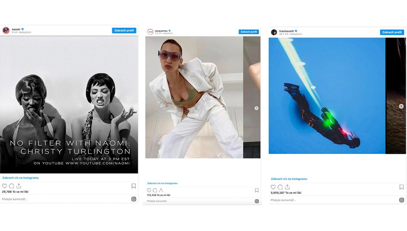 8 nezapomenutelných instagramových příspěvků z dubna 2020
