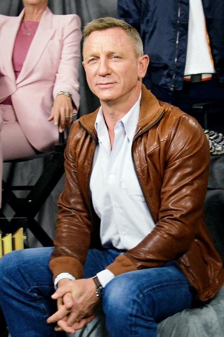Daniel Craig na promo focení k filmu Knives Out v LA, listopad 2019