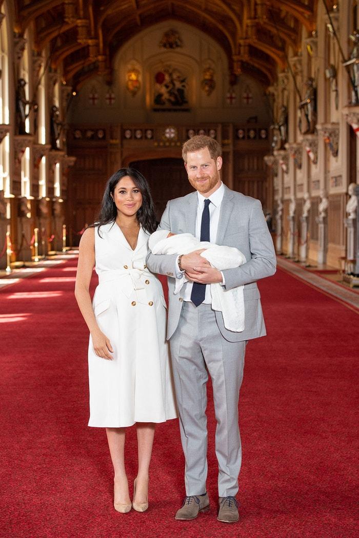 Vévoda a vévodkyně ze Sussexu a jejich syn Archie, 2019 Autor: PA Images