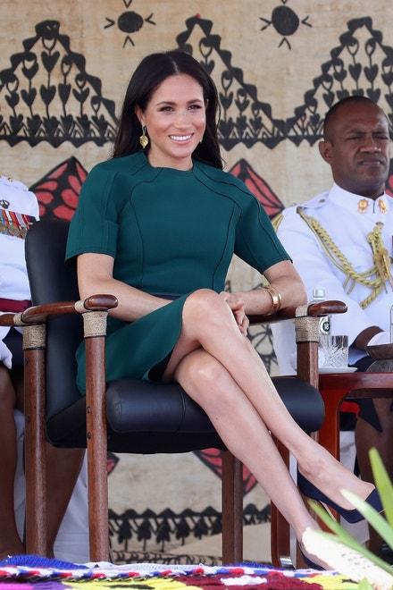 Meghan, vévodkyně ze Sussexu, na návštěvě Fidži, říjen 2018