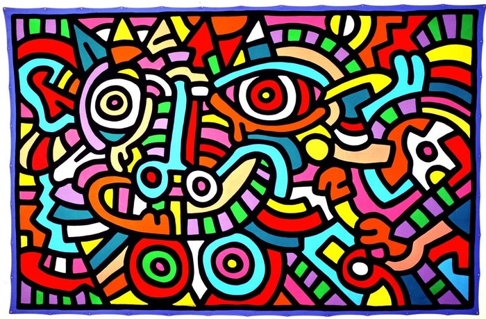 Keith Haring, Untitled, 1986