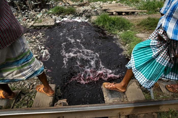 Znečištěné vody v Bangladéši Autor: Allison Joyce/Getty Images