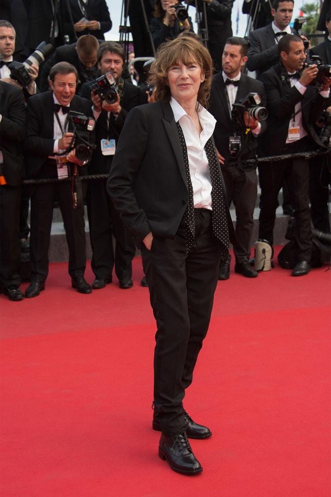 Jane Birkin, 68th Annual Cannes Film Festival (2015)
