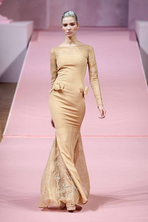 Sasha Luss, Alexis Mabille, Paris Fashion Week Haute-Couture Spring/Summer 2013