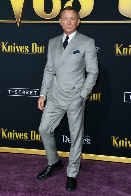 Daniel Craig na premiéře filmu Knives Out, listopad 2019