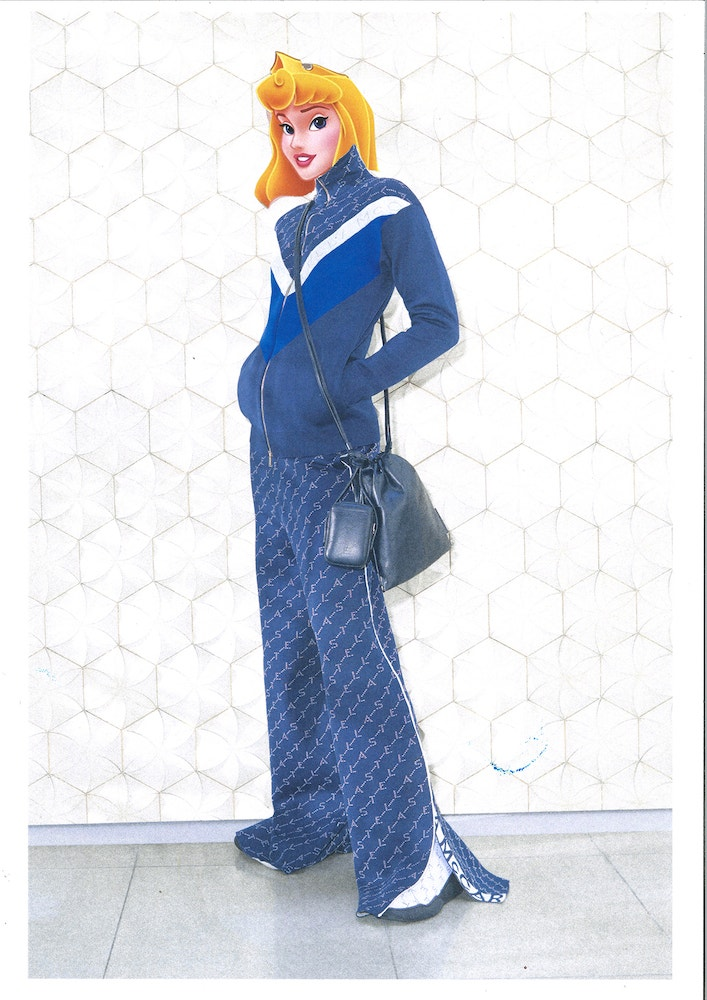 Šípková Růženka v resort kolekci Stella McCartney