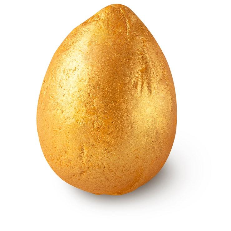 Krémová koupelová bomba Golden Egg, Lush, prodává Lush, 160 Kč