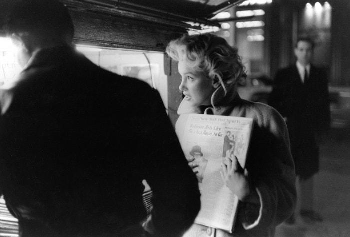 Marilyn Monroe, březen 1955         Autor: Ed Feingersh/Michael Ochs Archives/Getty Images