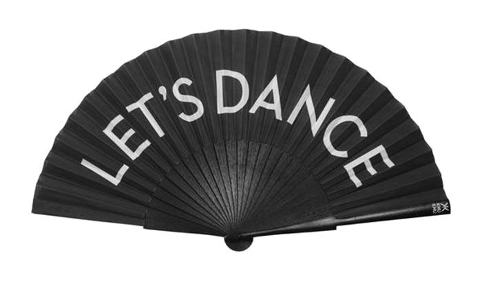 Vějíř Let's dance, Khu Khu, prodává Wolf & Badger, £ 35