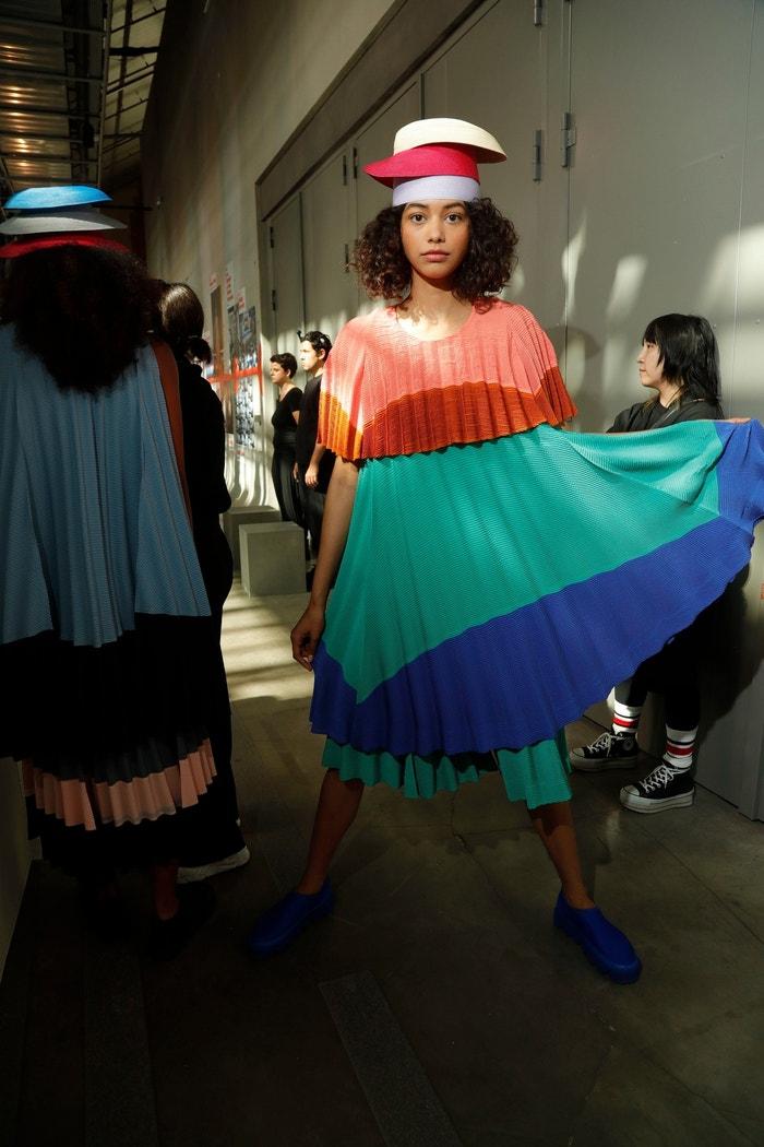 Přehlídka značky Issey Miyake, SS 2020, Paris Fashion Week, 2019 Autor: Profimedia