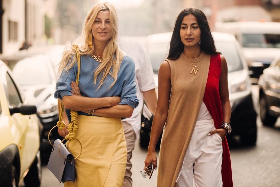 Milánský fashion week, září 2018