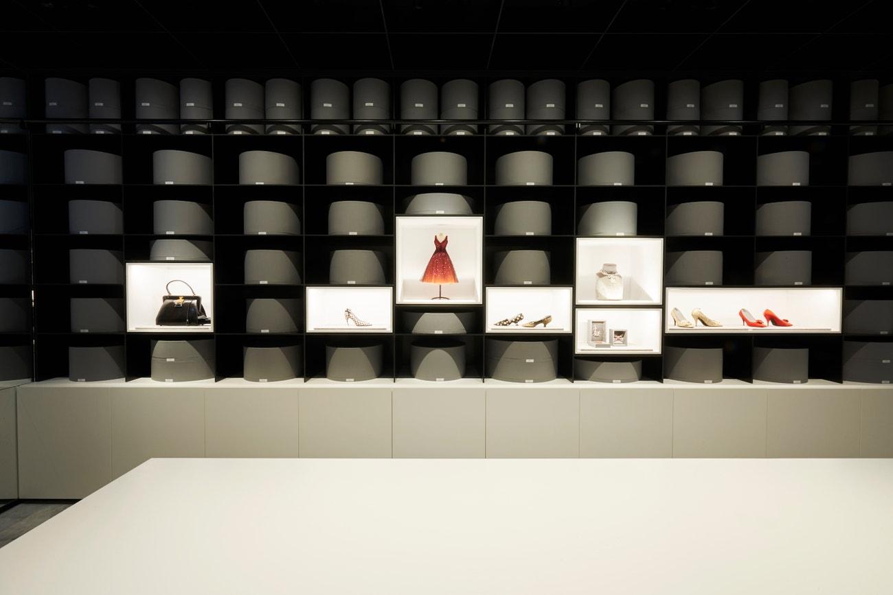 Pařížský archiv módního domu Dior