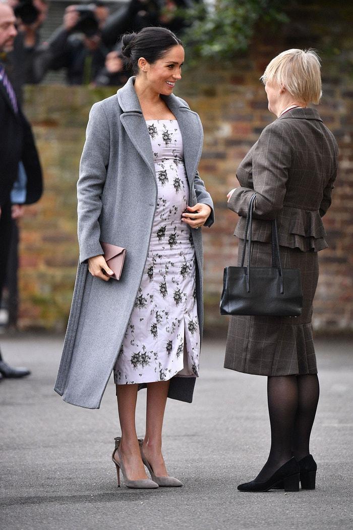 Meghan, vévodkyně ze Sussexu, Brinsworth House, Twickenham, Londýn, prosinec 2018 Autor: Tim Rooke/REX/Shutterstock