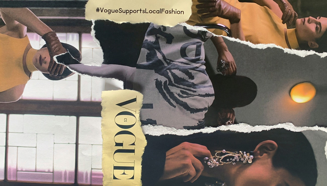 Vogue Supports Local Fashion: TOUCH ME! by Leeda