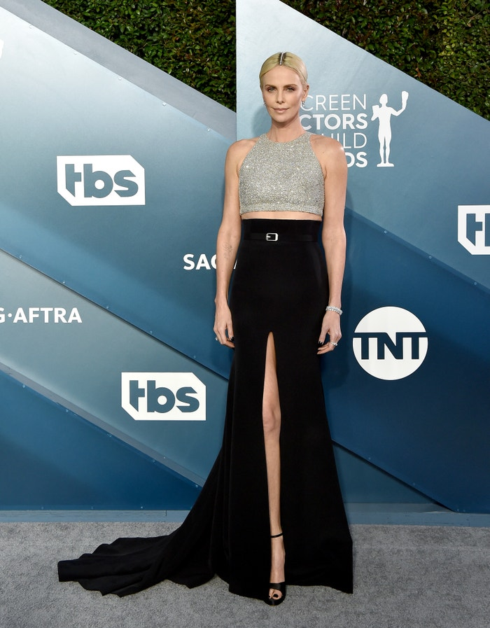 Charlize Theron in Givenchy at the SAG Awards. Autor: Getty Images