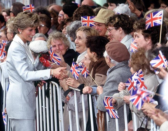 Princezna Diana na Václavském náměstí, květen 1991         Autor: Jayne Fincher/Princess Diana Archive/Getty Images