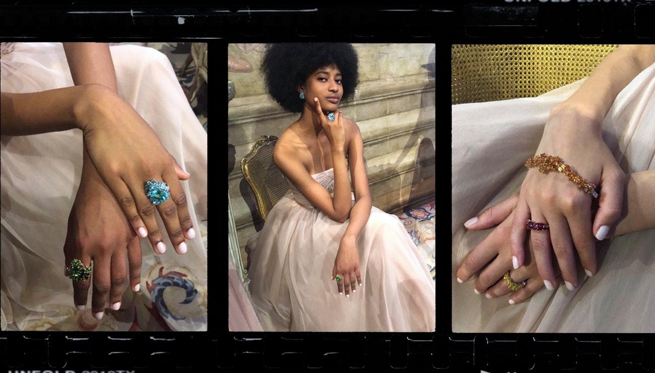 Představení haute joaillerie kolekce Gem Dior v Benátkách
