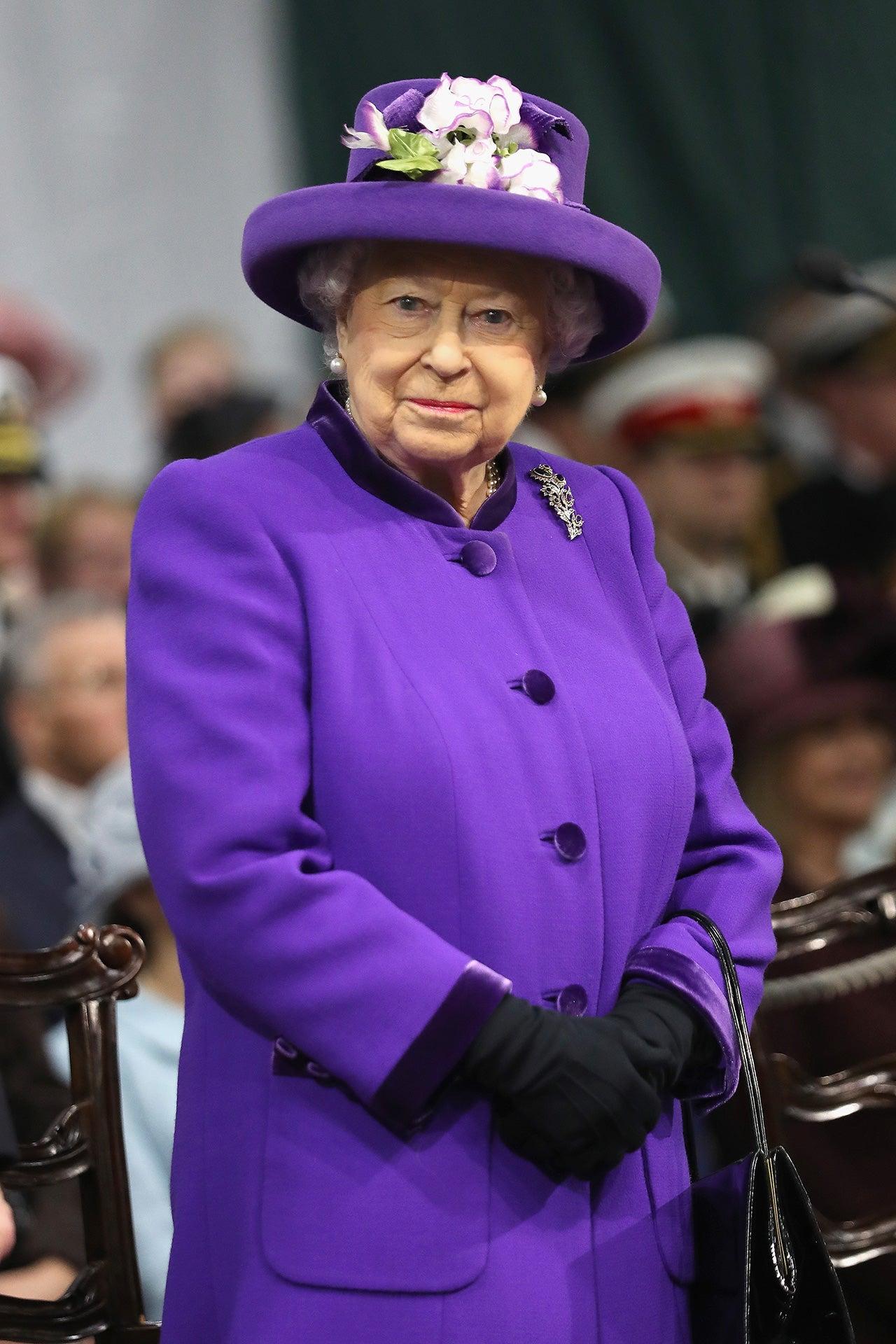 Královna Alžběta II., 2017 Autor: Getty Images