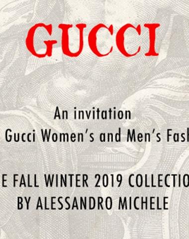 Živě z Milána: Přehlídka Gucci podzim - zima 2019/2020