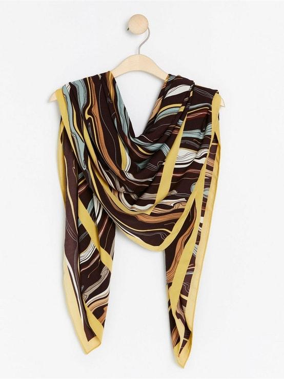 Vzorovaný velký šátek Extended, Lindex, prodává Lindex, 799 Kč