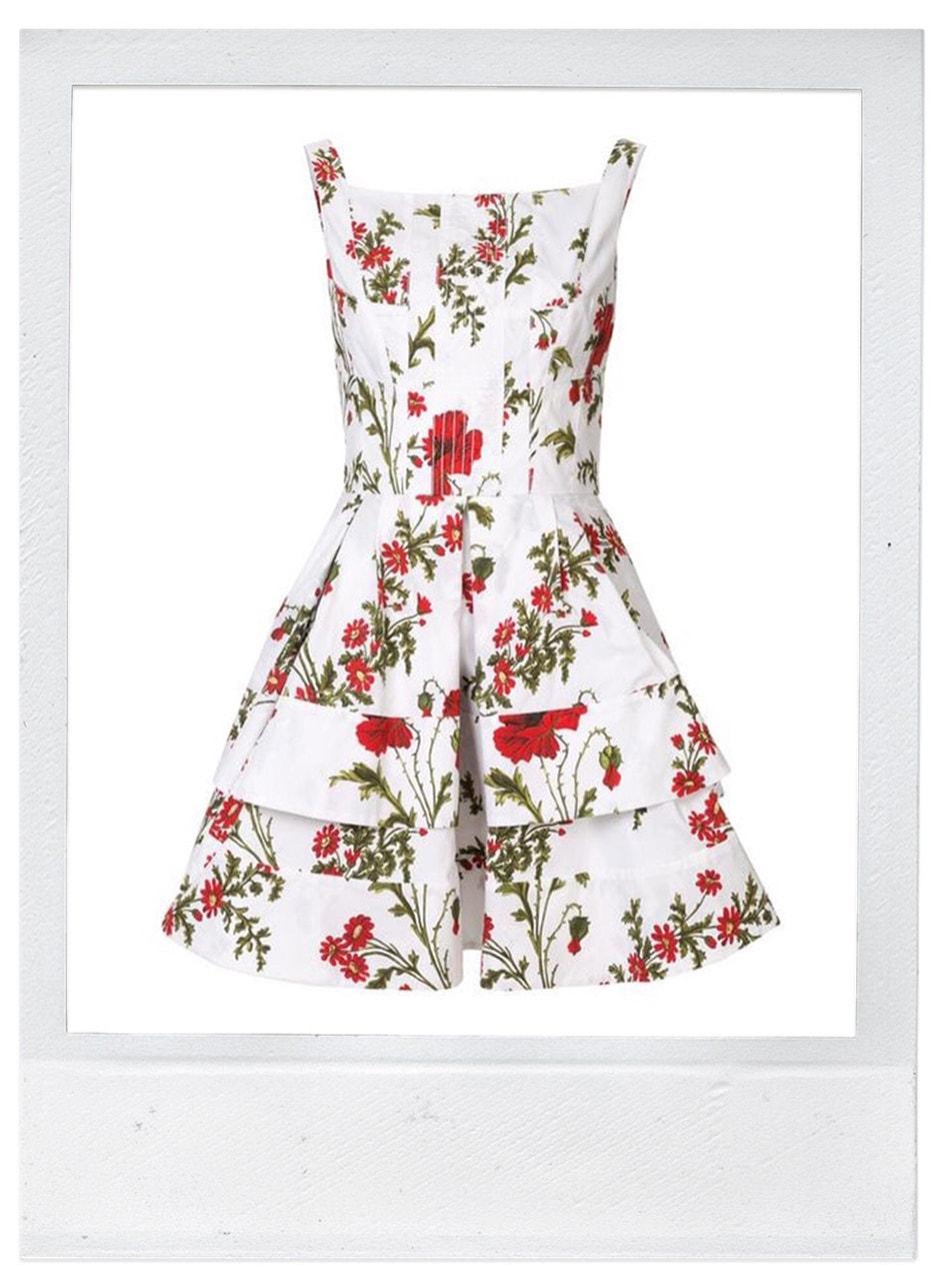 Šaty, Alexander McQueen, prodává Farfetch, 2584 €