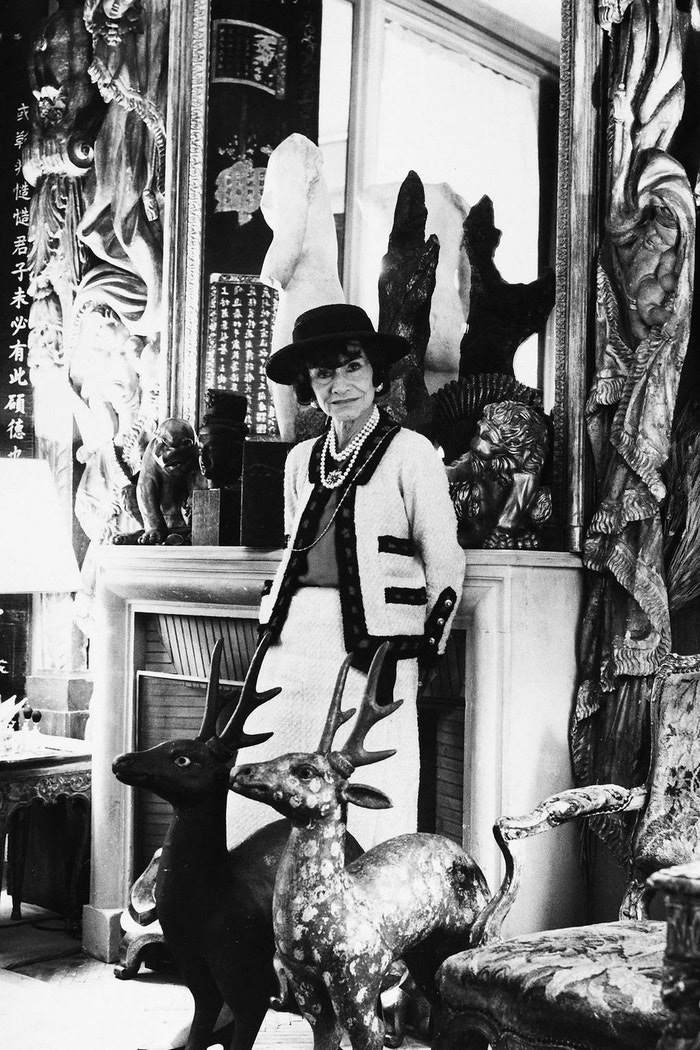 Coco Chanel v hotelu Ritz, 1965 Autor: Getty Images