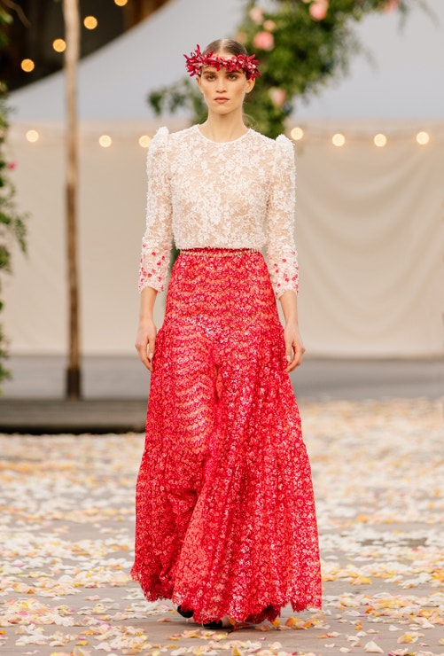 Chanel Haute Couture jaro - léto 2021