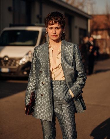 Street style z milánského týdne módy