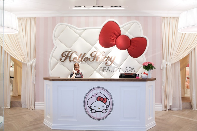 Hello Kitty Beauty Spa v Dubaji