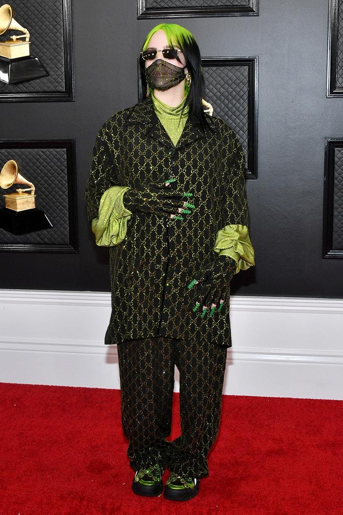 Billie Eilish na Grammy Awards, leden 2020 Autor: Getty Images