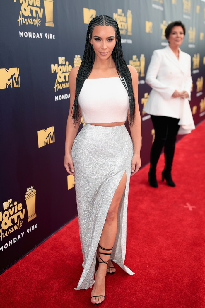Kim Kardashian na MTV Movie And TV Awards, 2018 Autor: Christopher Polk/Getty Images for MTV