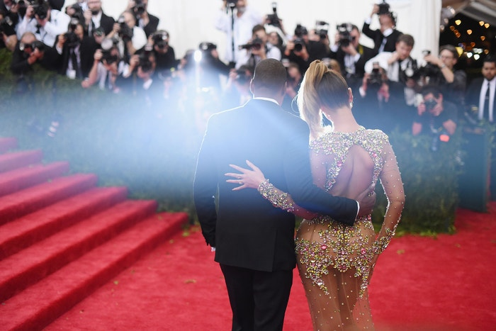 Jay Z a and Beyoncé na Met Gala 2015, téma China: Through The Looking Glass, Metropolitní muzeum v New Yorku, květen 2015 Autor: Mike Coppola/Getty Images