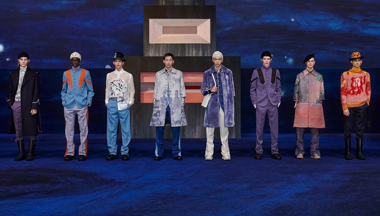 Pochodem vchod v podání nové pánské kolekce Dior