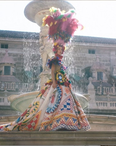 Dolce and Gabbana's Devotion revealed on the big screen
