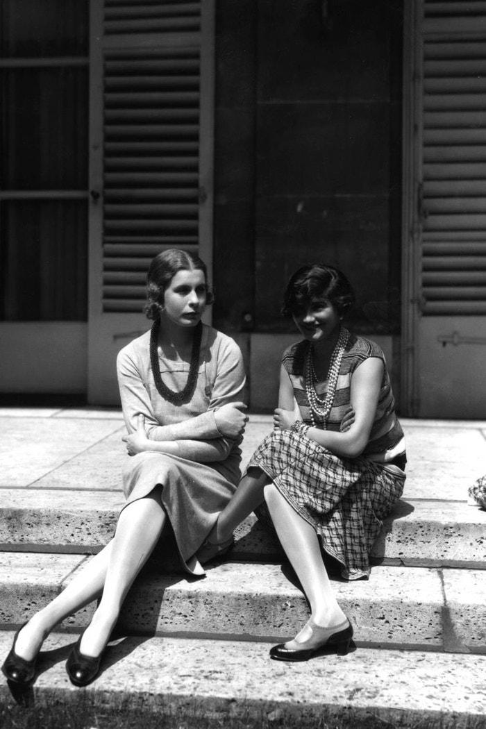Coco Chanel a lady Abdy ve Francii, 1929 Autor: Getty Images