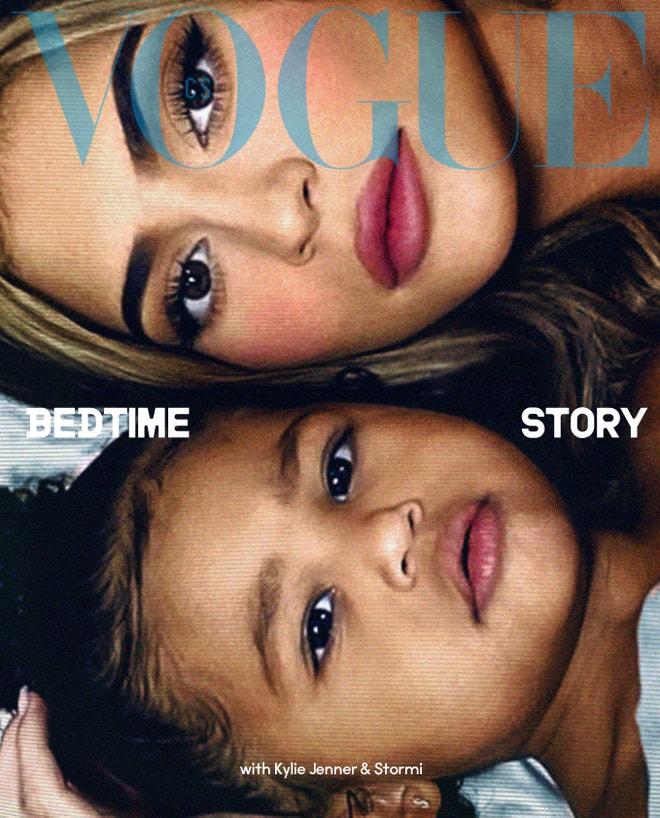 Kylie Jenner a Stormi, koupit Vogue CS, Issue 21