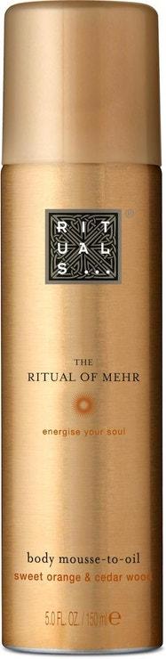 Tělová pěna Ritual of Mehr Body Mousse-to-Oil, RITUALS, prodává Rituals.cz, 335 Kč