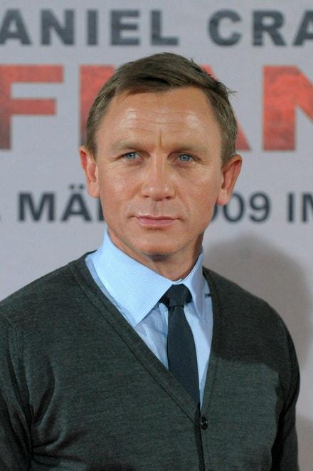 Daniel Craig v Mnichově, leden 2009