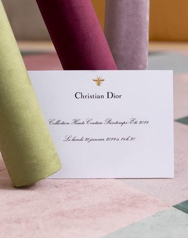 Živě z Paříže: Přehlídka Dior Haute Couture pro jaro a léto 2019