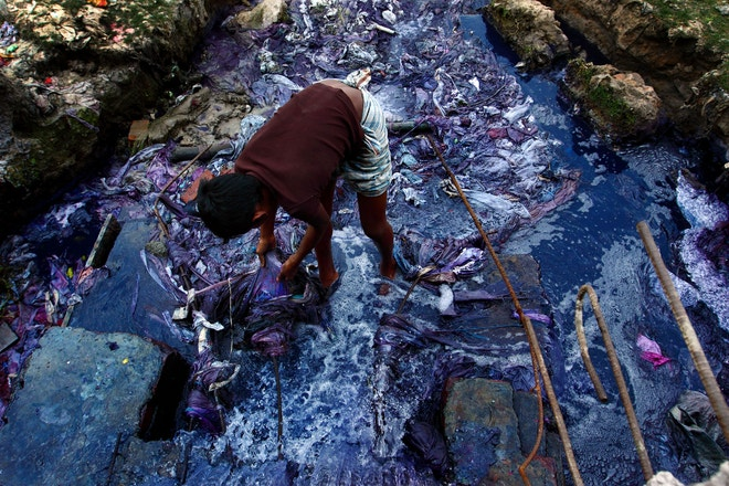 Zněčištěné vody v Bangladéši