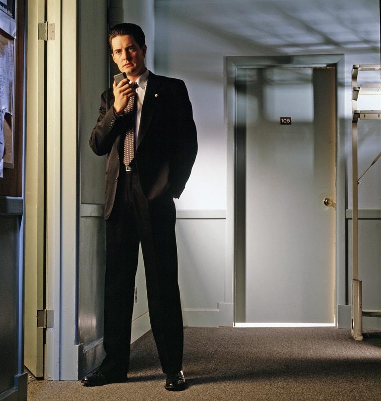 Kyle MacLachlan (Dale Cooper) v seriálu Twin Peaks (1990)