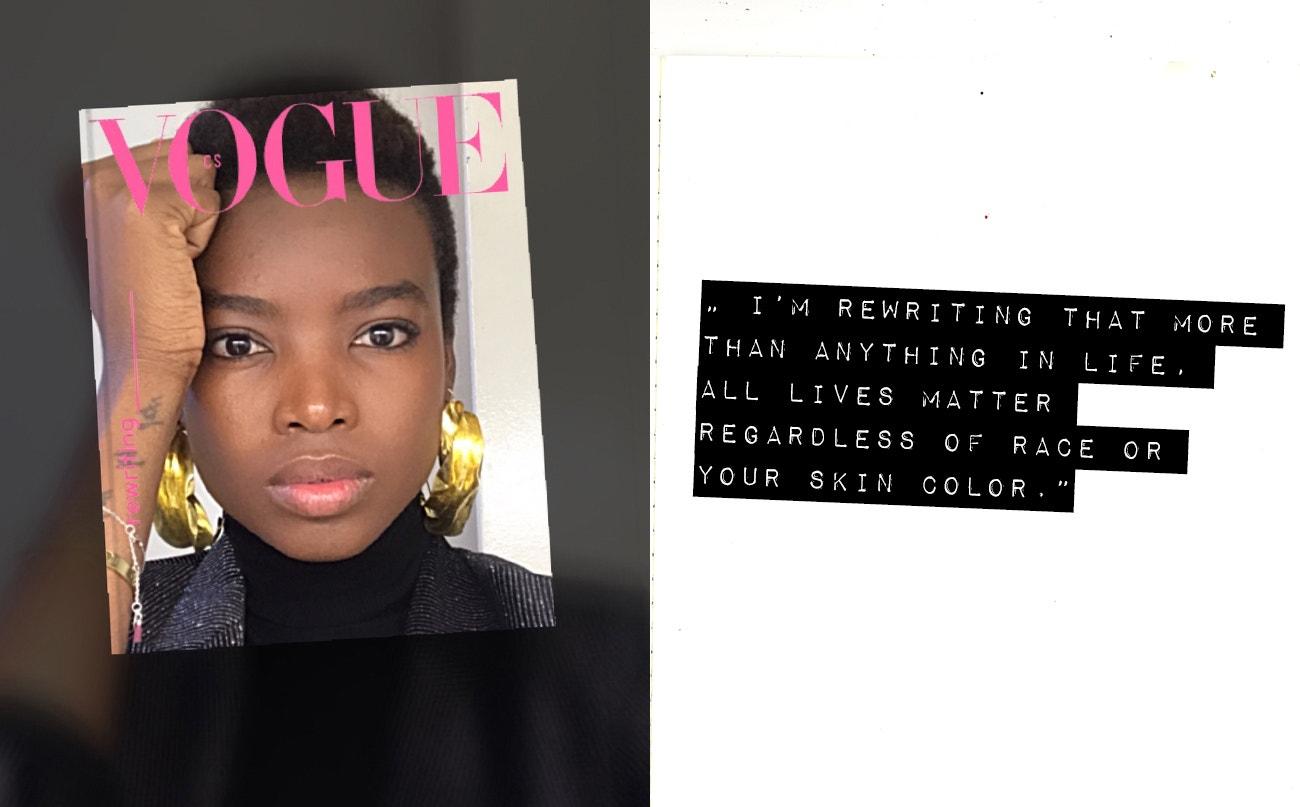Toto je věc, kterou přepisuji více než cokoli jiného v životě. Všechny životy jsou důležité bez ohledu na rasu nebo barvu pleti.