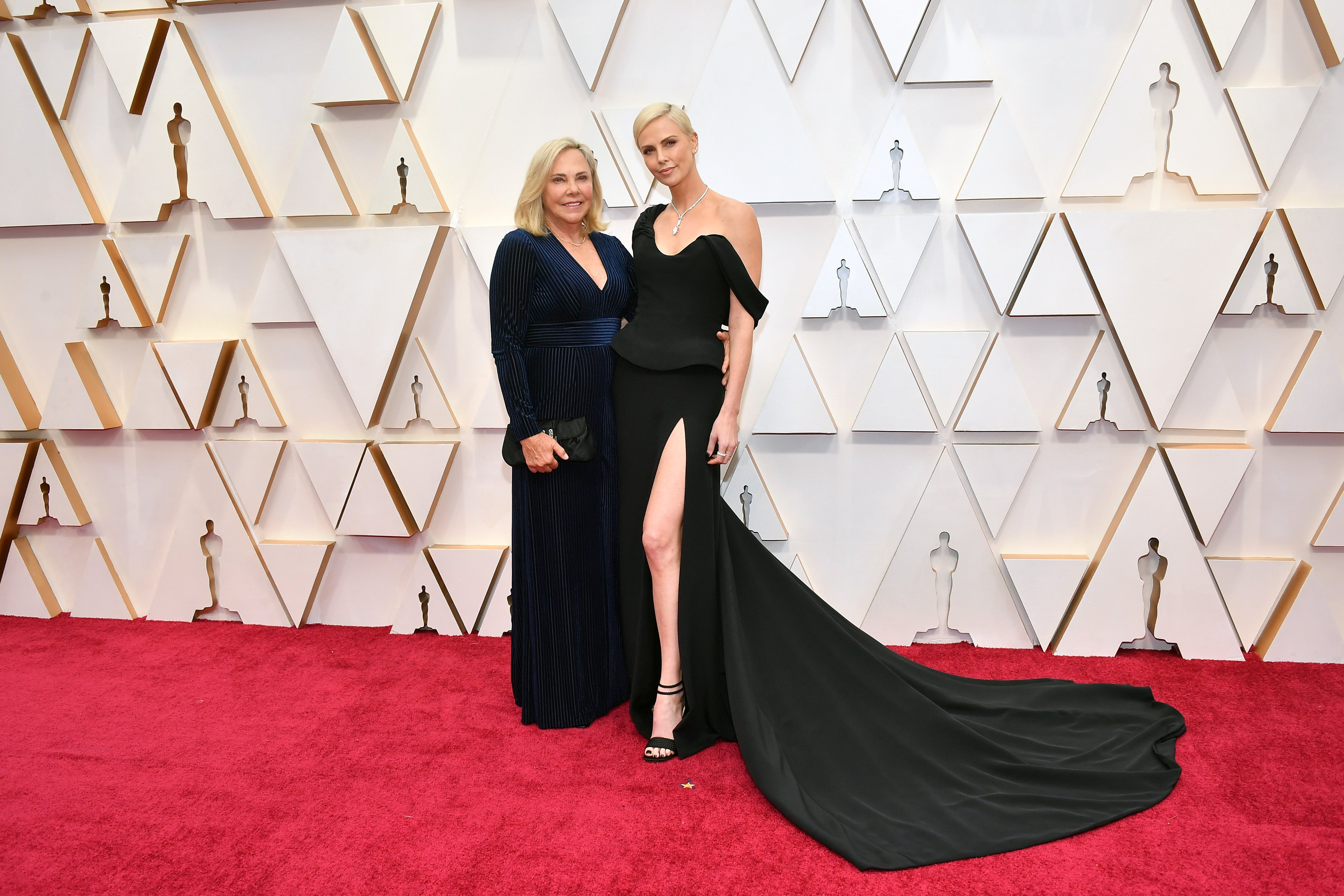 Charlize Theron s maminkou Gerdou             Autor: Getty Images
