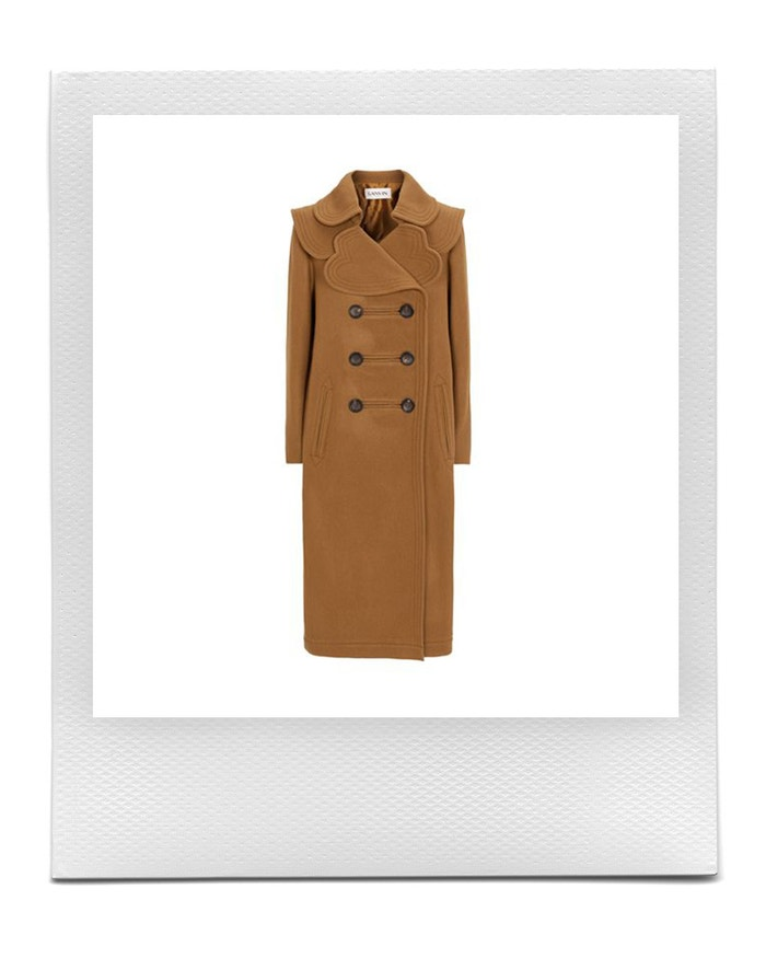 Wool Overcoat, LANVIN, sold by Harrods, CZK 87,681.00