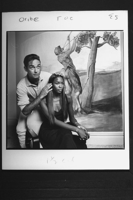 Oribe a Naomi Campbell